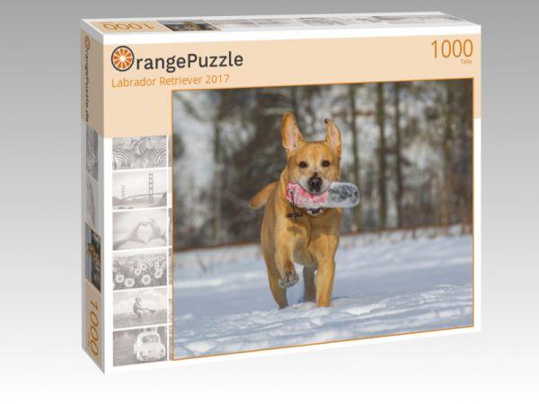"""Puzzle Motiv """"Labrador Retriever 2017"""" - Puzzle-Schachtel zu 1000 Teile Puzzle"""