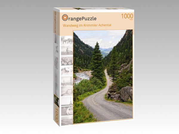 """Puzzle Motiv """"Wandweg im Krimmler Achental"""" - Puzzle-Schachtel zu 1000 Teile Puzzle"""