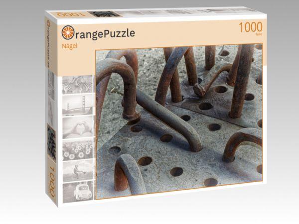 """Puzzle Motiv """"Nägel"""" - Puzzle-Schachtel zu 1000 Teile Puzzle"""