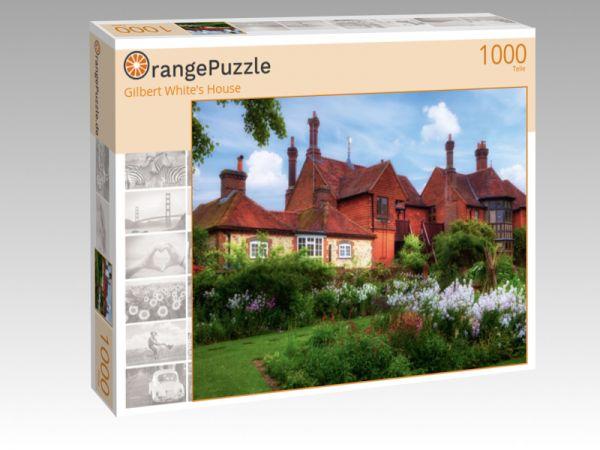 """Puzzle Motiv """"Gilbert White's House"""" - Puzzle-Schachtel zu 1000 Teile Puzzle"""