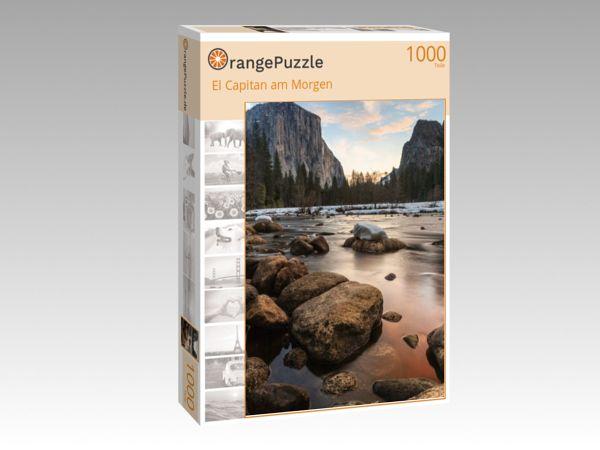"""Puzzle Motiv """"El Capitan am Morgen"""" - Puzzle-Schachtel zu 1000 Teile Puzzle"""