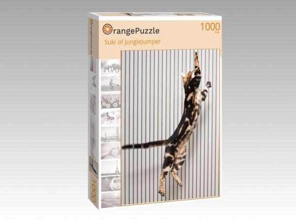 "Puzzle Motiv ""Suki of JungleJumper"" - Puzzle-Schachtel zu 1000 Teile Puzzle"