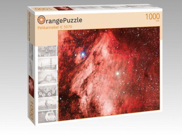 """Puzzle Motiv """"Pelikannebel IC 5070"""" - Puzzle-Schachtel zu 1000 Teile Puzzle"""
