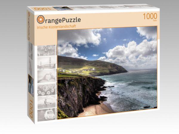 """Puzzle Motiv """"Irische Küstenlandschaft"""" - Puzzle-Schachtel zu 1000 Teile Puzzle"""