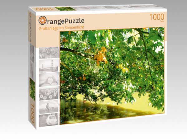 """Puzzle Motiv """"Graftanlage im Sonnenlicht"""" - Puzzle-Schachtel zu 1000 Teile Puzzle"""