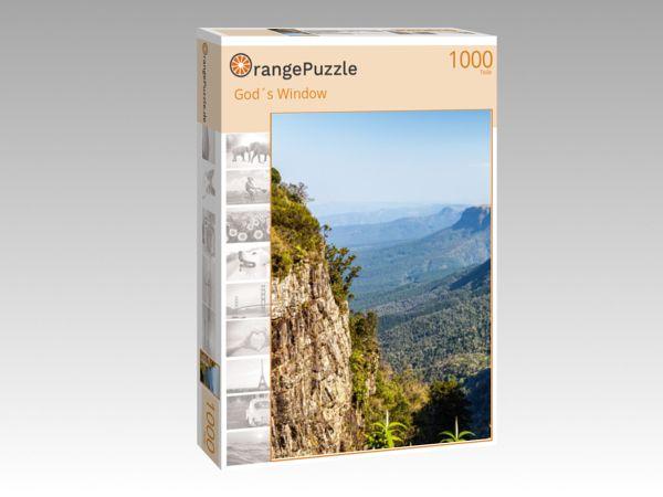 """Puzzle Motiv """"God´s Window"""" - Puzzle-Schachtel zu 1000 Teile Puzzle"""