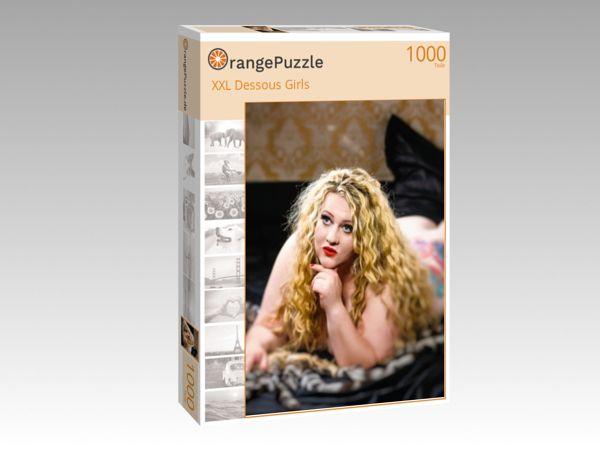 """Puzzle Motiv """"XXL Dessous Girls"""" - Puzzle-Schachtel zu 1000 Teile Puzzle"""