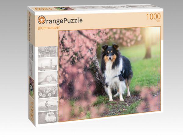 """Puzzle Motiv """"Blütenzauber"""" - Puzzle-Schachtel zu 1000 Teile Puzzle"""
