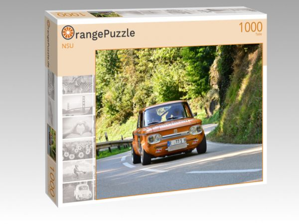 """Puzzle Motiv """"NSU """" - Puzzle-Schachtel zu 1000 Teile Puzzle"""