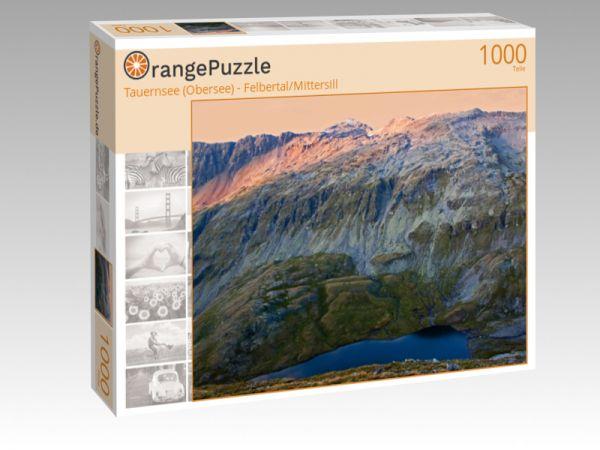 """Puzzle Motiv """"Tauernsee (Obersee) - Felbertal/Mittersill"""" - Puzzle-Schachtel zu 1000 Teile Puzzle"""