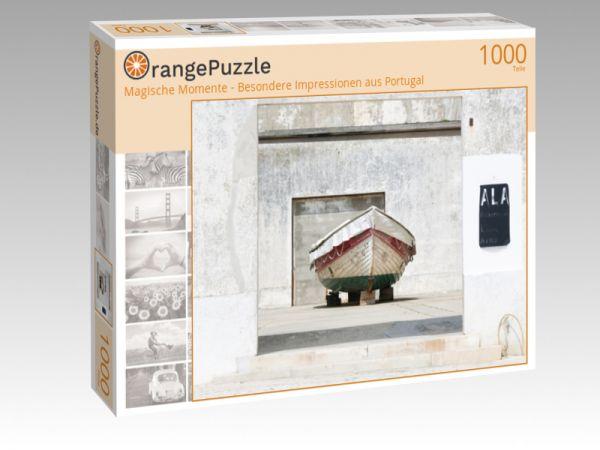 "Puzzle Motiv ""Magische Momente - Besondere Impressionen aus Portugal"" - Puzzle-Schachtel zu 1000 Teile Puzzle"