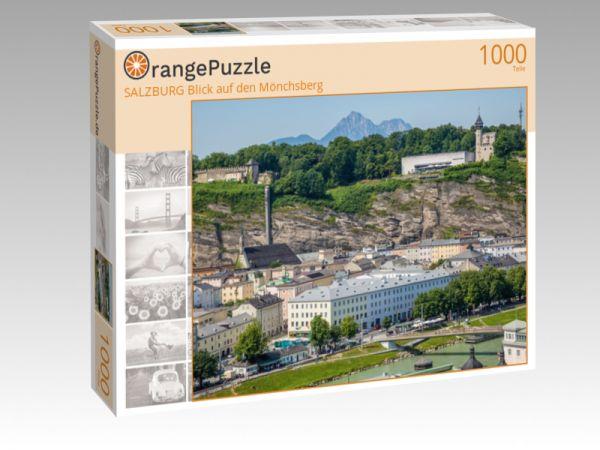 """Puzzle Motiv """"SALZBURG Blick auf den Mönchsberg"""" - Puzzle-Schachtel zu 1000 Teile Puzzle"""