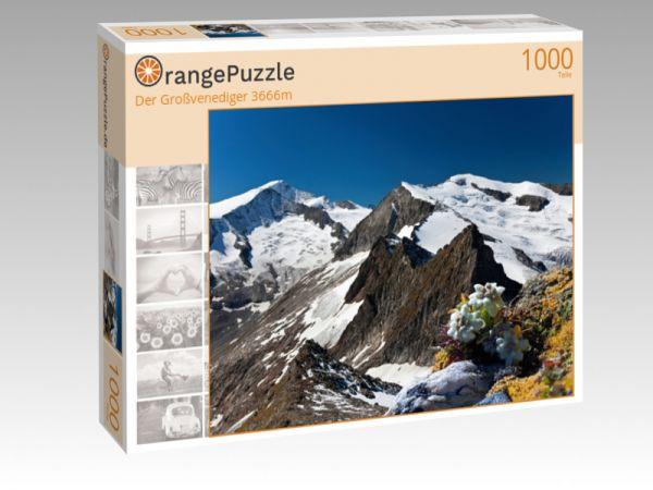"""Puzzle Motiv """"Der Großvenediger 3666m"""" - Puzzle-Schachtel zu 1000 Teile Puzzle"""