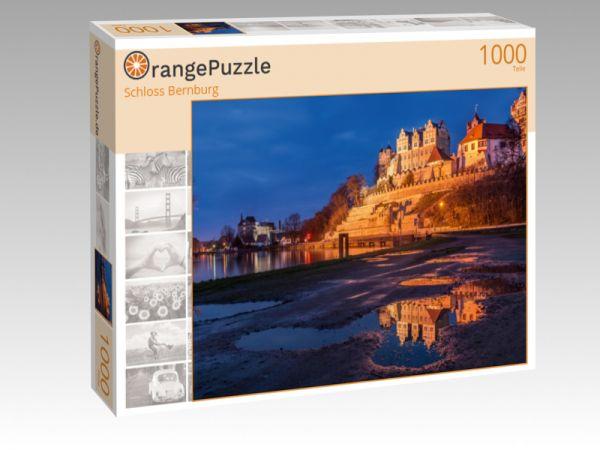 """Puzzle Motiv """"Schloss Bernburg"""" - Puzzle-Schachtel zu 1000 Teile Puzzle"""