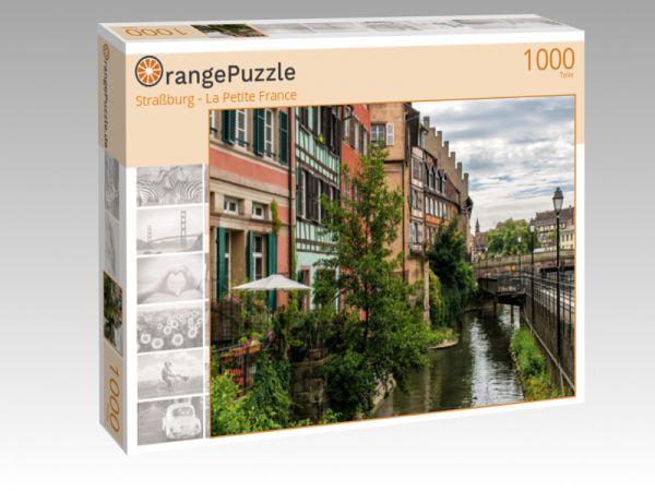 """Puzzle Motiv """"Straßburg - La Petite France"""" - Puzzle-Schachtel zu 1000 Teile Puzzle"""