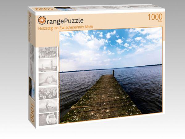 """Puzzle Motiv """"Holzsteg ins Zwischenahner Meer"""" - Puzzle-Schachtel zu 1000 Teile Puzzle"""
