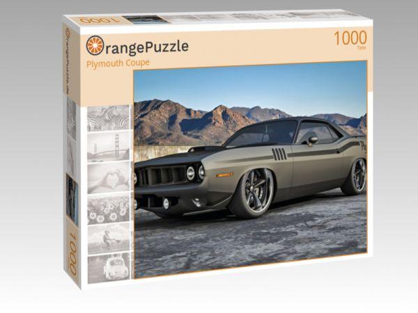 """Puzzle Motiv """"Plymouth Coupe"""" - Puzzle-Schachtel zu 1000 Teile Puzzle"""