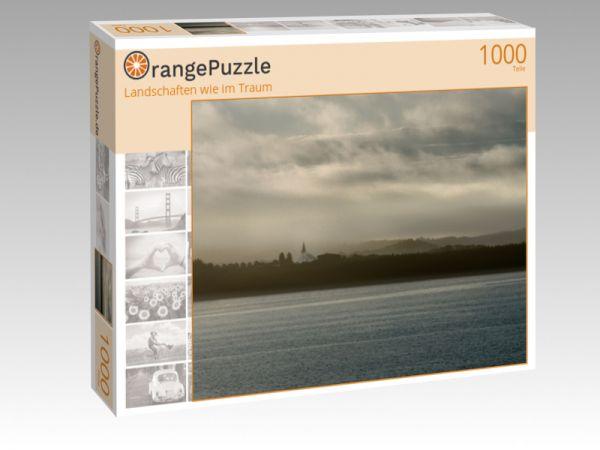 """Puzzle Motiv """"Landschaften wie im Traum"""" - Puzzle-Schachtel zu 1000 Teile Puzzle"""