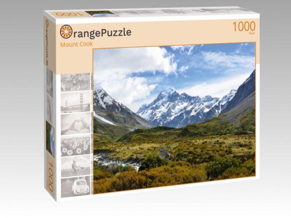 """Puzzle Motiv """"Mount Cook"""" - Puzzle-Schachtel zu 1000 Teile Puzzle"""