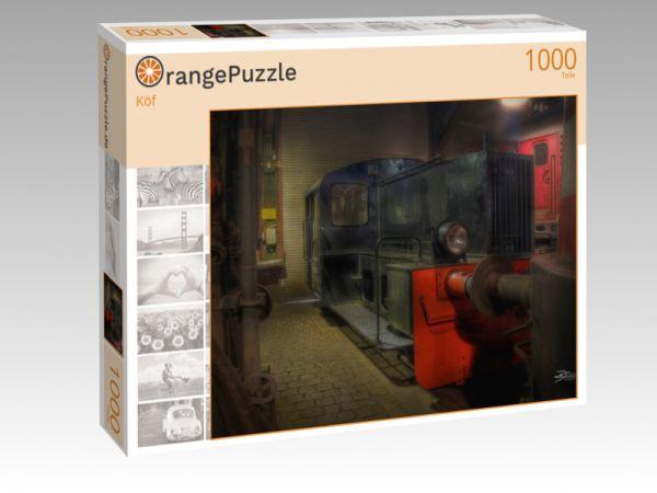 """Puzzle Motiv """"Köf"""" - Puzzle-Schachtel zu 1000 Teile Puzzle"""