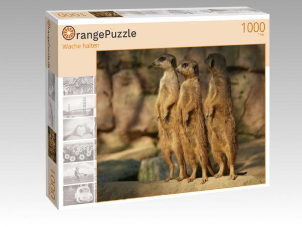 "Puzzle Motiv ""Wache halten"" - Puzzle-Schachtel zu 1000 Teile Puzzle"