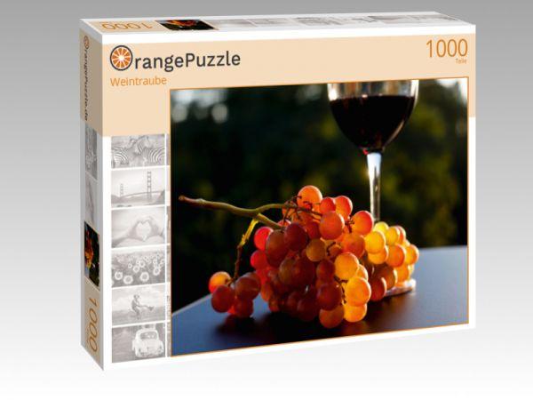 """Puzzle Motiv """"Weintraube"""" - Puzzle-Schachtel zu 1000 Teile Puzzle"""