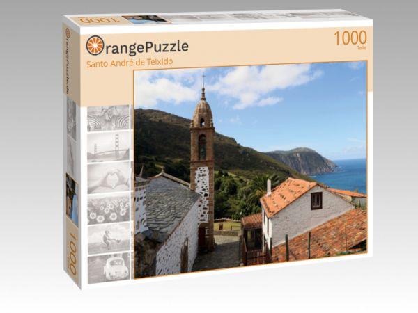 """Puzzle Motiv """"Santo André de Teixido"""" - Puzzle-Schachtel zu 1000 Teile Puzzle"""