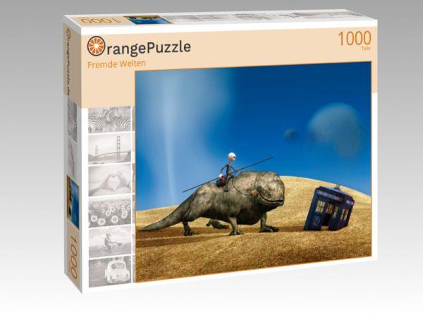 """Puzzle Motiv """"Fremde Welten"""" - Puzzle-Schachtel zu 1000 Teile Puzzle"""