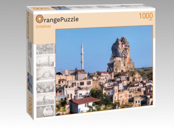 """Puzzle Motiv """"Ortahisar"""" - Puzzle-Schachtel zu 1000 Teile Puzzle"""