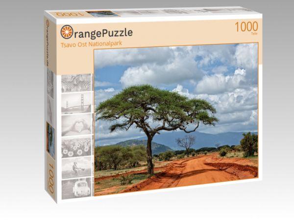 """Puzzle Motiv """"Tsavo Ost Nationalpark"""" - Puzzle-Schachtel zu 1000 Teile Puzzle"""