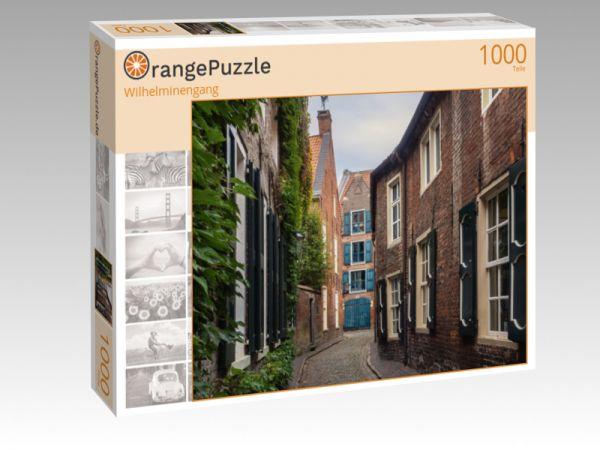 """Puzzle Motiv """"Wilhelminengang"""" - Puzzle-Schachtel zu 1000 Teile Puzzle"""