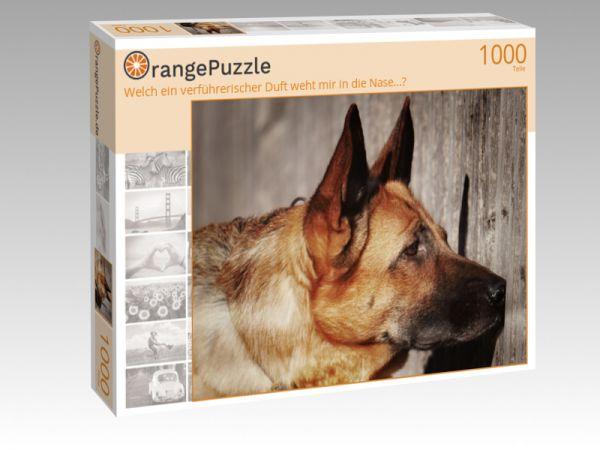 """Puzzle Motiv """"Welch ein verführerischer Duft weht mir in die Nase...?"""" - Puzzle-Schachtel zu 1000 Teile Puzzle"""