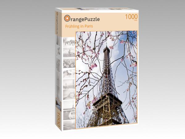 Puzzle Motiv Eiffelturm Paris