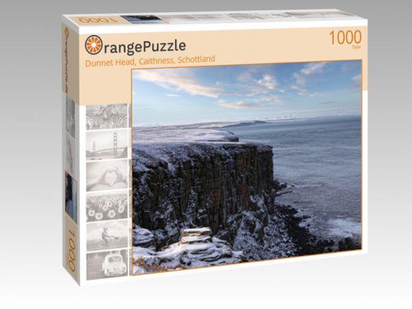 "Puzzle Motiv ""Dunnet Head, Caithness, Schottland"" - Puzzle-Schachtel zu 1000 Teile Puzzle"