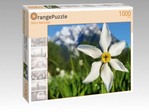 """Puzzle Motiv """"Stern Narzisse"""" - Puzzle-Schachtel zu 1000 Teile Puzzle"""
