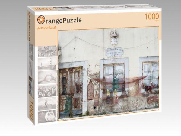 """Puzzle Motiv """"Ausverkauf"""" - Puzzle-Schachtel zu 1000 Teile Puzzle"""