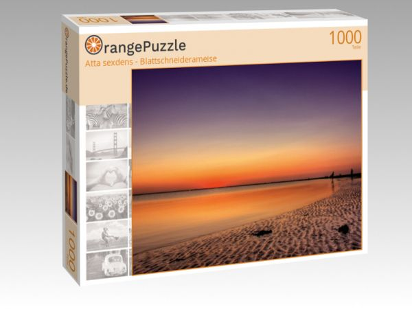 """Puzzle Motiv """"Atta sexdens - Blattschneiderameise"""" - Puzzle-Schachtel zu 1000 Teile Puzzle"""