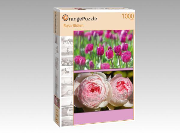 """Puzzle Motiv """"Rosa Blüten"""" - Puzzle-Schachtel zu 1000 Teile Puzzle"""