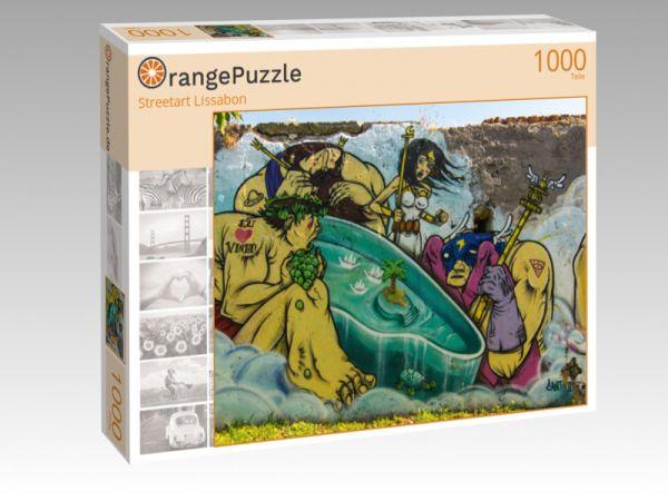 "Puzzle Motiv ""Streetart Lissabon"" - Puzzle-Schachtel zu 1000 Teile Puzzle"