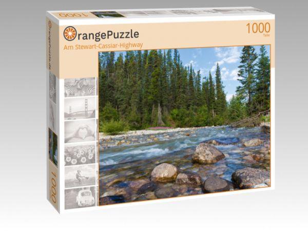"""Puzzle Motiv """"Am Stewart-Cassiar-Highway"""" - Puzzle-Schachtel zu 1000 Teile Puzzle"""
