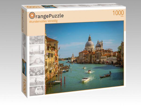 """Puzzle Motiv """"Wundervolles Venedig"""" - Puzzle-Schachtel zu 1000 Teile Puzzle"""