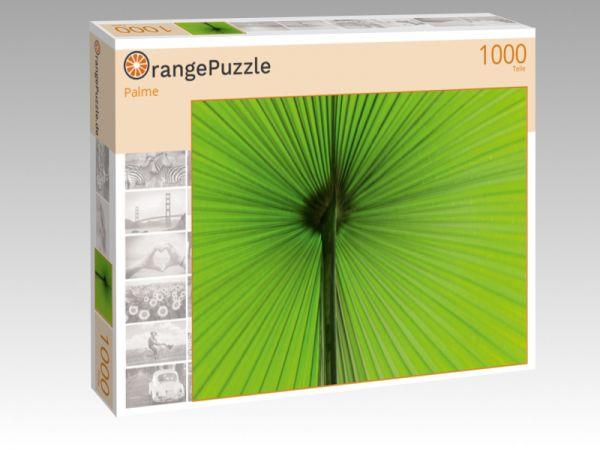 """Puzzle Motiv """"Palme"""" - Puzzle-Schachtel zu 1000 Teile Puzzle"""