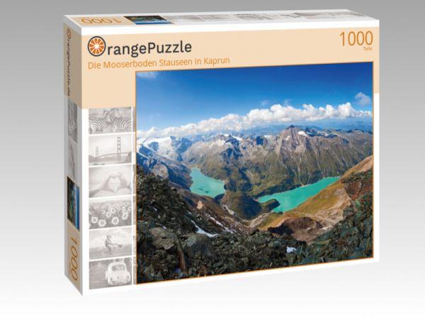 """Puzzle Motiv """"Die Mooserboden Stauseen in Kaprun"""" - Puzzle-Schachtel zu 1000 Teile Puzzle"""