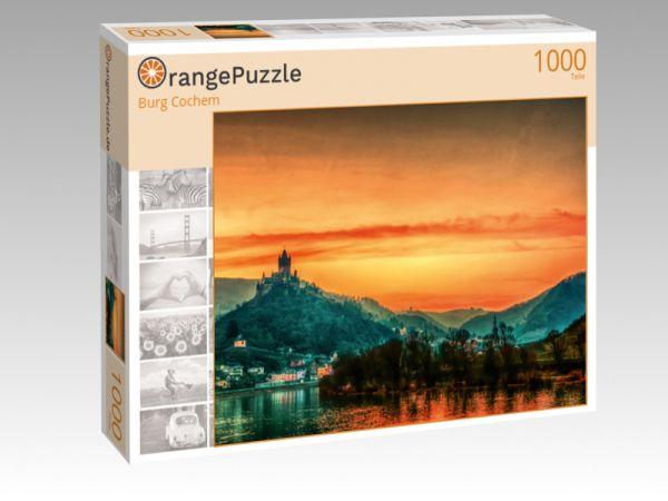 """Puzzle Motiv """"Burg Cochem"""" - Puzzle-Schachtel zu 1000 Teile Puzzle"""