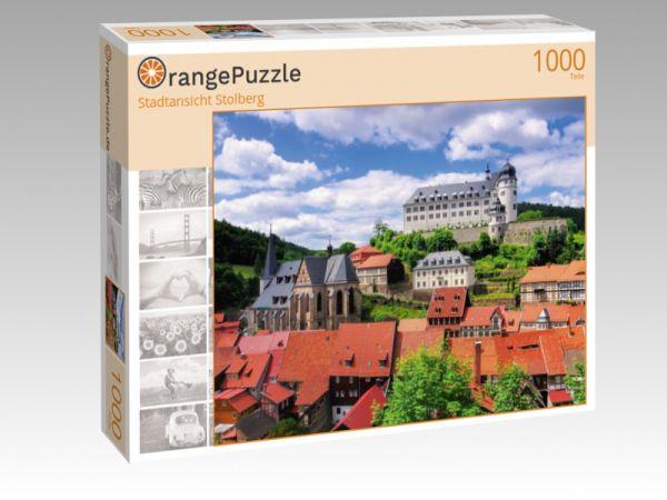 "Puzzle Motiv ""Stadtansicht Stolberg"" - Puzzle-Schachtel zu 1000 Teile Puzzle"