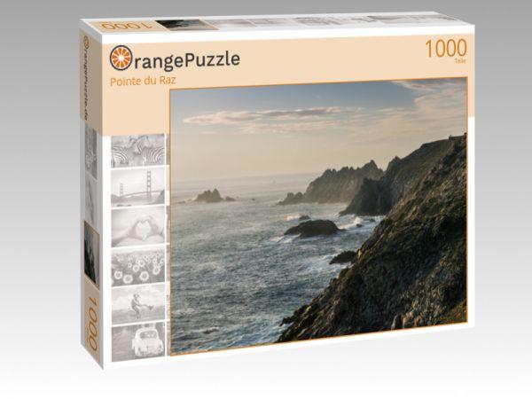 """Puzzle Motiv """"Pointe du Raz"""" - Puzzle-Schachtel zu 1000 Teile Puzzle"""