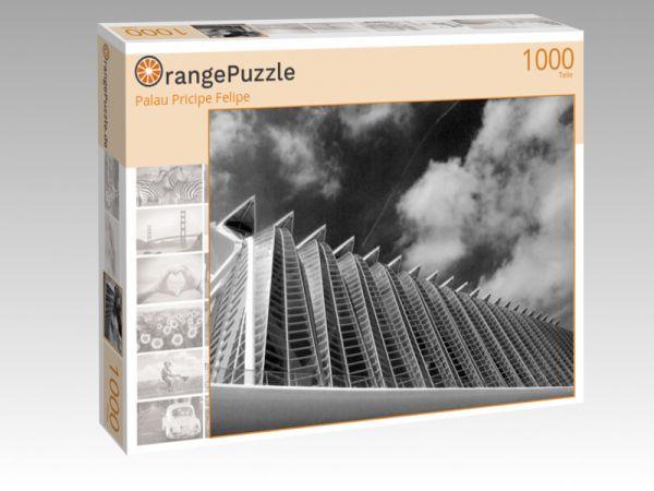 """Puzzle Motiv """"Palau Pricipe Felipe"""" - Puzzle-Schachtel zu 1000 Teile Puzzle"""