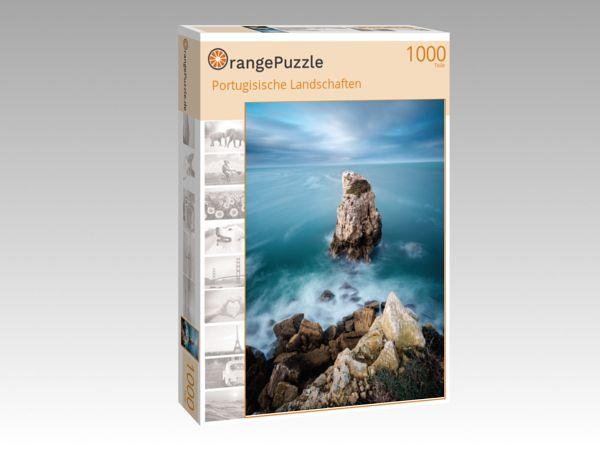 """Puzzle Motiv """"Portugisische Landschaften"""" - Puzzle-Schachtel zu 1000 Teile Puzzle"""