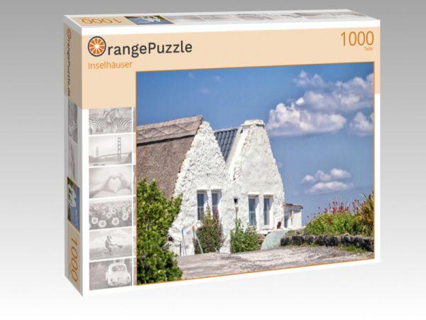 "Puzzle Motiv ""Inselhäuser"" - Puzzle-Schachtel zu 1000 Teile Puzzle"