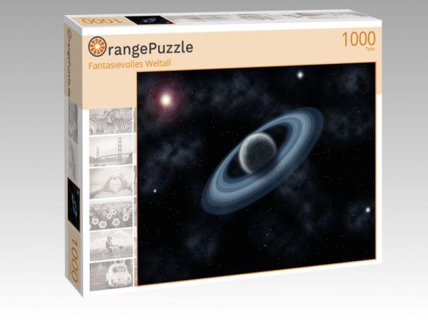 "Puzzle Motiv ""Fantasievolles Weltall"" - Puzzle-Schachtel zu 1000 Teile Puzzle"